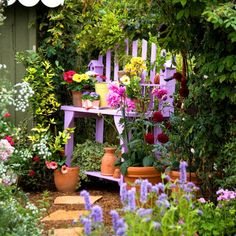 Bright accents for the garden and backyard. 11 methods + 45 great ...
