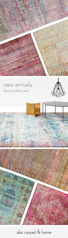 Take 10% off + free shipping with promo code: New10. Explore our latest collection of hand-knotted silk rugs and one-of-a-kind vintage rugs.