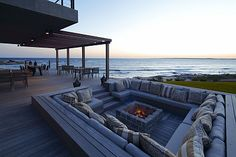 fire pit seating area. With my future :) #Dream!