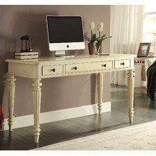 "Otwell 54"" Fluted Leg Writing Desk"