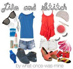 LILO & STITCH Disney Outfits- Casual Wear