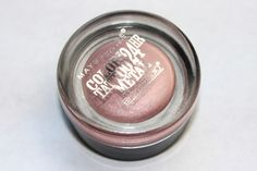 amarixe: beauty and lifestyle blog: Maybelline Color Tattoo Eyeshadow in Inked in Pink: Review + Swatch