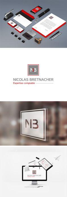 Le cabinet Nicolas Bretnacher est une société d'expertise comptable, située à Le Ban Saint-Martin, près de Metz (57). Il intervient auprès des TPE et PME en matière de Comptabilité, Fiscalité, Gestion et Paie. Pour le lancement de son activité, son dirigeant a fait appel aux services de l'Agence Berlioz afin de réaliser son identité visuelle composée d'un logo, minimal et direct.