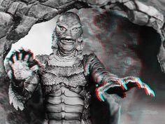 Creature From The Black Lagoon. Horror Movies.