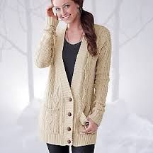 You can't go wrong with a cabled neutral coloured long cardigan #cardigan #winter #fashion