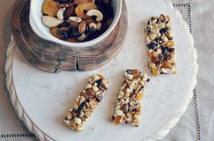 Homemade KIND bar recipe...this recipe calls for Brown Rice Syrup, which I have a lot of.