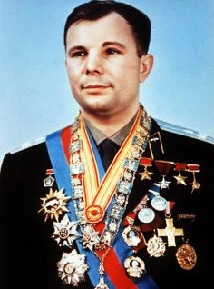 Yuri Gagarin was a Soviet pilot and cosmonaut. He was the first human to journey into outer space, when his Vostok spacecraft completed an orbit of the Earth on 12 April 1961. Gagarin later became deputy training director of the Cosmonaut Training Centre outside Moscow, which was later named after him. Gagarin died in 1968 when the MiG 15 training jet he was piloting crashed.