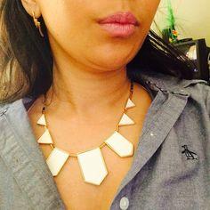 Earrings by #RachelZoe , Necklace by #houseofharlow, shirt by #penguin