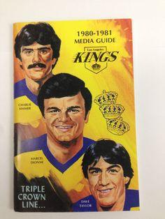 los angeles kings 1980-1981 media guide nhl hockey #vintage la kings from $3.99