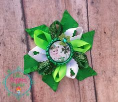 St Patricks Elsa   Loopy flower Boutique by ElliesHappinessBows