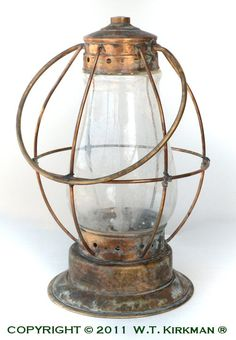 Check out the deal on 1840's Marine Style Lantern at W.T. Kirkman Oil and Electric Lanterns