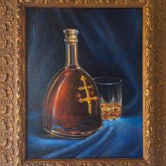 "D'usse cognac by Brandon Kralik 11x14"" private collection. brandonkralik.com"