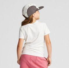 Girls' Graphic T-Shirt - Art Class White XS