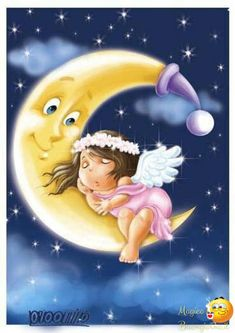 Bellissime Immagini per Augurare Buonanotte su Facebook e Whatsapp da immagini-buonanotte.it Good Night Greetings, Good Night Messages, Good Night Wishes, Good Night Moon, Good Night Image, Emoji Pictures, Cute Pictures, Sweet Moon, Night Illustration