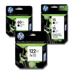 Cartuchos originais da HP para impressões de qualidade! #HP #Impressão