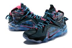 best sneakers f9df8 c42fb 2017 New Arrival Latest Classic LeBron 12 Shoes 23 Chromosomes For Cheap