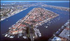 Lido Isle, Newport Beach, California
