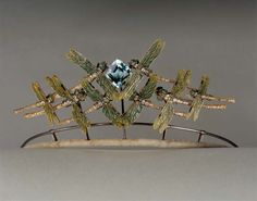Lalique Dragonfy Tiara 1900