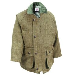 800daf3b7a6 Kids Childrens Derby Tweed Jackets Breathable Waterproof Shooting Hunting  by WWK   WorkWear King  Amazon.co.uk  Clothing