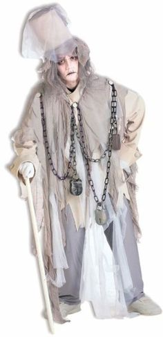 Men's Costume: Jacob Marley One Size