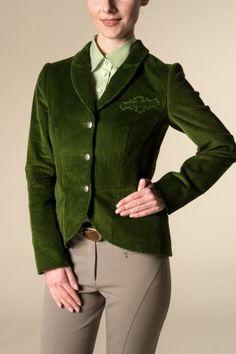 Jacke aus  Baumwollcord