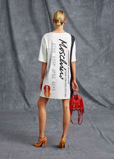 Moschino Spring/Summer 2016 pre-collection - See more on www.moschino.com