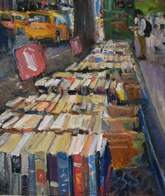 """""""Used Books for Sale, NYC"""" by Duane Keiser"""
