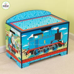 Thomas The Train Wall Mural Http://www.muralsforkids.com/products/Thomas  The Train Wall Mural.html | Kids Walls | Pinterest | Wall Murals, Walls  And Room ...