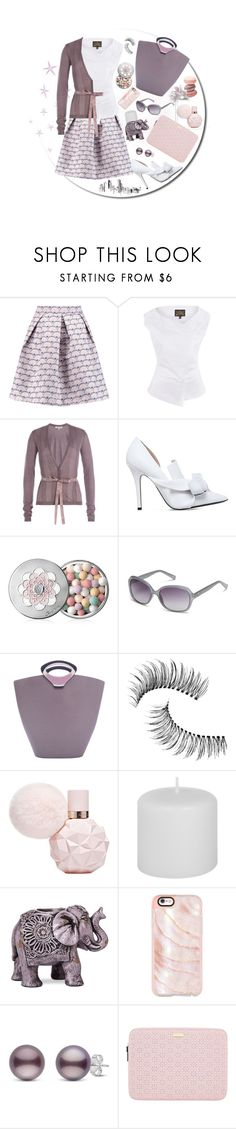 """""""Pastel Office Style"""" by dogzprinted ❤ liked on Polyvore featuring Markus Lupfer, Vivienne Westwood Anglomania, Etro, N°21, Guerlain, Calvin Klein, Louis Vuitton, Trish McEvoy, Boho Boutique and Casetify"""