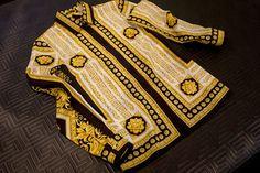 Vintage Versace shirt - gold