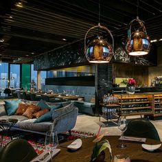 Edles Ambiente und trotzdem gemütlich: das Skykitchen Restaurant und Bar | creme berlin
