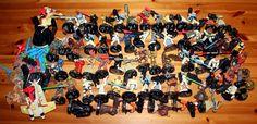 Bulk Lot of Attacktix Star Wars Action Figures w Weapons Action Battle Figures #Hasbro