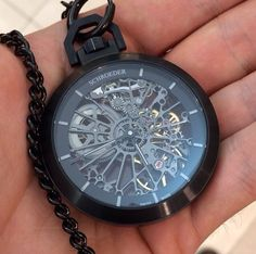 Skeleton Pocket Watch grooms gift