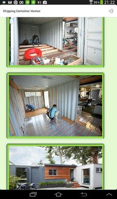 Container home good flooring