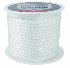 Attwood General Purpose Nylon Rope, White, 100-Feet -- You can find out more details at the link of the image.