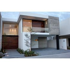 Modern house..