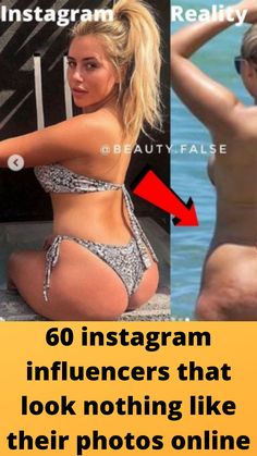 60 #instagram influencers that look #nothing like their #photos online