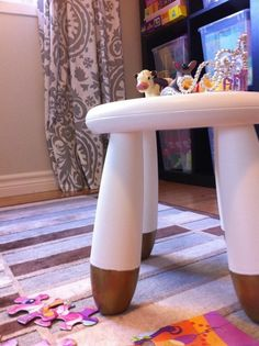 Style Upgrade: DIY Ideas for Giving the IKEA Mammut Stool a Makeover