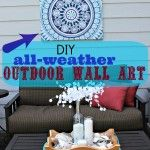 How Make All-Weather Outdoor Wall Art!