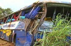 Jataí News: Acidente entre ônibus e caminhonete deixa quatro m...