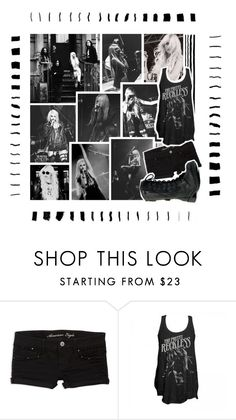 """""""TMLBG ~ Round 3 ~ Rock ~ The Pretty Reckless"""" by holly-violet ❤ liked on Polyvore featuring Supersonic and American Eagle Outfitters"""