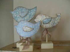 Birds from the Wood Connection Bird Crafts, Wooden Crafts, Easter Crafts, Diy And Crafts, Arts And Crafts, Beginner Woodworking Projects, Woodworking Wood, Small Wood Projects, Craft Projects