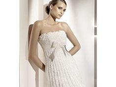 Vestidos de novia con moños 1