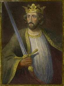 Edward I (1239 - 1307). Called Edward Longshanks and the Hammer of the Scots. King from 1272 - 1307. He married Eleanor of Castile and had many children. After her death he married Margaret of France and had two more sons. He fought against William Wallace and the Scots were ecstatic when he died.
