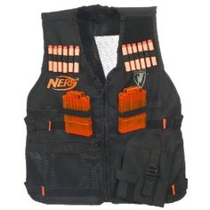 Nerf Vest. Awesome gift Idea for a guy.... or me :D please :] my birthday's coming up ppl! ;)