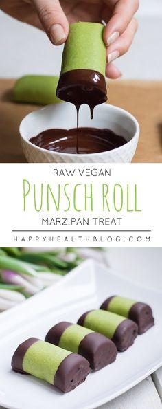 Raw vegan punsch rolls - swedish, rawfood, vegan, dessert, pastry, sweet - happyhealthblog - Photo: Natalie Yonan