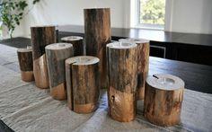 DIY: Make Glam, Gold-Dipped Candleholders