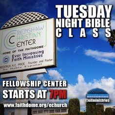 Join us 7pm tonight at Crenshaw Christian Center or Logon at http://ift.tt/1dETcDB for Tuesday's Bible Class. Comment below the #LIVESTREAM and Fellowship with our E-Church! #Repost and Invite A Friend! #CCC #EIFMinistries #TuesdayBibleClass #BibleStudy #Christian #Jesus #Bible #Word #Faith #God #Yahweh by eifministries