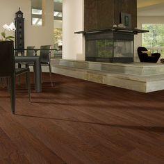 Flooring in Entry way, kitchen, & dining room - Hardwood Heartland 5 - SW208 - Hazelnut - Flooring by Shaw