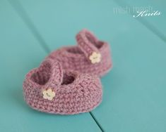 "Free Mary Jane Shoes Crochet Pattern for Newborn or 18"" Doll"